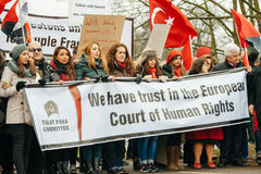 Διαμαρτυρία αρμενικής και Διασποράς της Τουρκίας Στοκ εικόνες με δικαίωμα ελεύθερης χρήσης