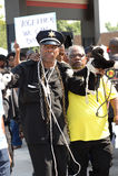 Διαμαρτυρόμενοι σε Ferguson, MO Στοκ Φωτογραφίες