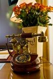 διαμορφωμένο παλαιό τηλέφωνο Στοκ Εικόνες