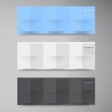 Διανυσματικά εμβλήματα και τετράγωνα. Σύνολο χρώματος Στοκ φωτογραφίες με δικαίωμα ελεύθερης χρήσης