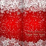 Διανυσματικά Χριστούγεννα και νέο υπόβαθρο έτους με Στοκ φωτογραφίες με δικαίωμα ελεύθερης χρήσης