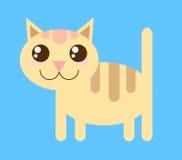 Διανυσματική γάτα Στοκ Εικόνα