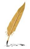 διανυσματικό γράψιμο εργαλείων φτερών παλαιό Στοκ εικόνες με δικαίωμα ελεύθερης χρήσης