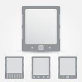 Διανυσματικό εικονίδιο αναγνωστών EBook Στοκ εικόνες με δικαίωμα ελεύθερης χρήσης