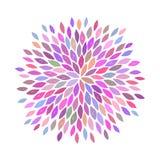 Διανυσματικό λουλούδι Στοκ Εικόνα