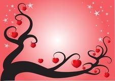 Διανυσματικό υπόβαθρο μορφής καρδιών Στοκ εικόνες με δικαίωμα ελεύθερης χρήσης