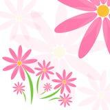 Διανυσματικό υπόβαθρο λουλουδιών Στοκ Εικόνες