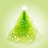 Διανυσματικό υπόβαθρο Χριστουγέννων απεικόνισης αφηρημένο Στοκ Φωτογραφίες
