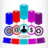Διανυσματικό infographics Στοκ φωτογραφία με δικαίωμα ελεύθερης χρήσης