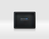 Διανυσματικό PC ταμπλετών Στοκ Εικόνες