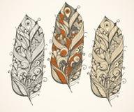 Διανυσματικό snowflake watercolor Στοκ εικόνα με δικαίωμα ελεύθερης χρήσης