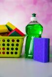 Διαποτισμένα χρώματα, έννοια πλυσίματος Στοκ Εικόνες