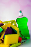 Διαποτισμένα χρώματα, έννοια πλυσίματος Στοκ φωτογραφία με δικαίωμα ελεύθερης χρήσης