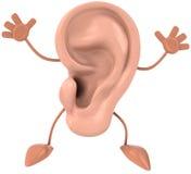 διασκέδαση αυτιών Στοκ Φωτογραφία
