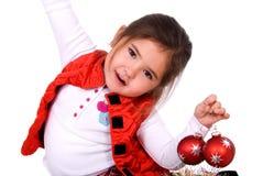 διασκέδαση Χριστουγένν&omeg Στοκ Εικόνα