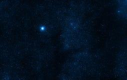 Διαστημικά αστέρια υποβάθρου Στοκ εικόνα με δικαίωμα ελεύθερης χρήσης