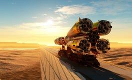 Διαστημική μεταφορά Στοκ φωτογραφίες με δικαίωμα ελεύθερης χρήσης