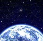 διαστημικός κόσμος επιθ&up Στοκ Φωτογραφία