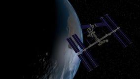 Διαστημικός σταθμός Στοκ φωτογραφία με δικαίωμα ελεύθερης χρήσης