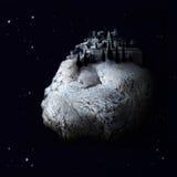 διαστημικό χωριό φαντασία&sigma Στοκ Εικόνες