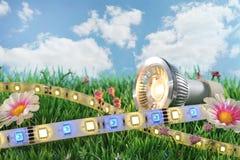 Διαφορετικό LEDs Στοκ Εικόνες