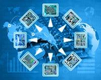 Διαδίκτυο και υψηλή τεχνολογία Στοκ Φωτογραφία
