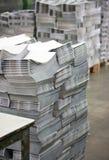 Διαδικασία εκτύπωσης όφσετ Στοκ Εικόνα