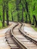 διαδρομή σιδηροδρόμων Στοκ Εικόνα