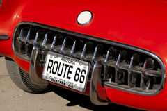 διαδρομή 66 αυτοκινήτων Στοκ φωτογραφία με δικαίωμα ελεύθερης χρήσης
