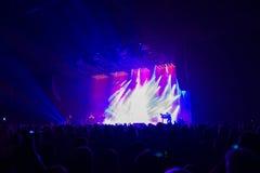 Δια τη σιβηρική ορχήστρα στη συναυλία Στοκ φωτογραφίες με δικαίωμα ελεύθερης χρήσης