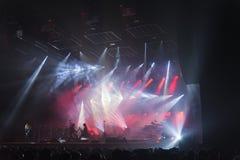 Δια τη σιβηρική ορχήστρα στη συναυλία Στοκ φωτογραφία με δικαίωμα ελεύθερης χρήσης