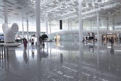 Διεθνής αερολιμένας Bao'an Στοκ Εικόνες