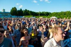 διεθνής τζαζ VIII φεστιβάλ Στοκ Φωτογραφία
