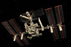 διεθνής διαστημικός στα&the Στοκ φωτογραφία με δικαίωμα ελεύθερης χρήσης