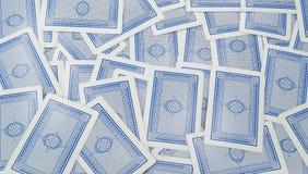 Υπόβαθρο καρτών Στοκ Φωτογραφίες