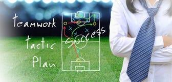 Διευθυντής ποδοσφαίρου Στοκ φωτογραφία με δικαίωμα ελεύθερης χρήσης