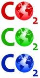 διοξείδιο του άνθρακα Στοκ φωτογραφίες με δικαίωμα ελεύθερης χρήσης
