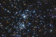Διπλή συστάδα αστεριών Στοκ Εικόνες