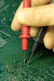 δοκιμή PCB Στοκ Εικόνες
