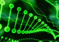 δομή DNA 01 Στοκ φωτογραφία με δικαίωμα ελεύθερης χρήσης