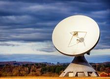 Δορυφορικό πιάτο - ραδιο τηλεσκόπιο Στοκ εικόνα με δικαίωμα ελεύθερης χρήσης