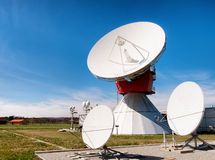 Δορυφορικό πιάτο - ραδιο τηλεσκόπιο Στοκ Εικόνες