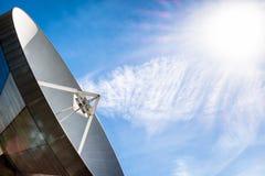Δορυφορικό πιάτο - ραδιο τηλεσκόπιο Στοκ Φωτογραφία