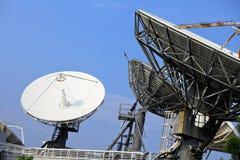 Δορυφορικό πιάτο Στοκ Εικόνες