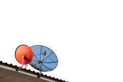 Δορυφόρος επικοινωνιών Στοκ εικόνες με δικαίωμα ελεύθερης χρήσης