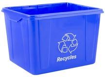 δοχείο ανακύκλωσης Στοκ φωτογραφία με δικαίωμα ελεύθερης χρήσης