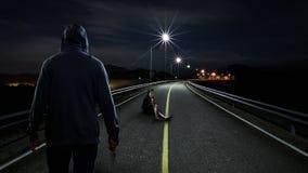 Δολοφόνος Στοκ φωτογραφίες με δικαίωμα ελεύθερης χρήσης