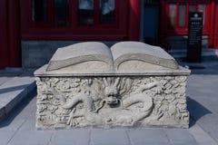 Δράκος και βιβλίο Στοκ Φωτογραφίες