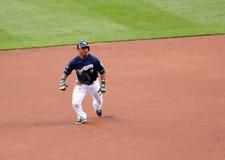 Δράση Major League Baseball Στοκ Φωτογραφίες