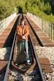 δροσερός κιθαρίστας Στοκ εικόνες με δικαίωμα ελεύθερης χρήσης